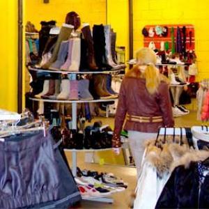 Магазины одежды и обуви Мокроуса
